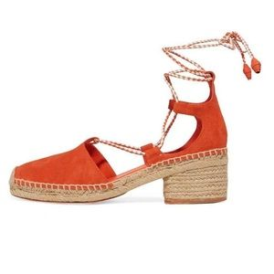 Tory Burch Orange Espadrilles 8